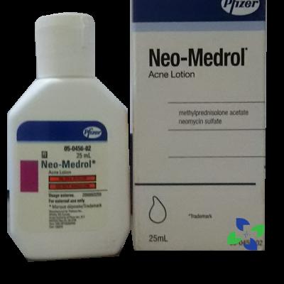 neo medrol acne lotion