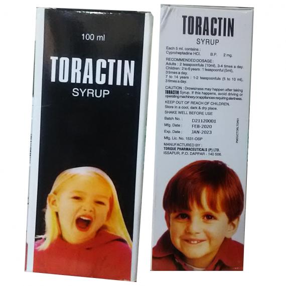 toractitn syrup
