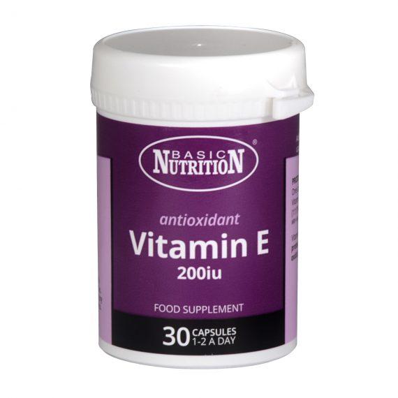 Basic Nutrition vitamin E