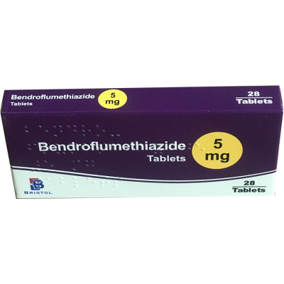 Bendroflumethiazide 5mg